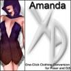 XD3 Amanda: Crossdresser License