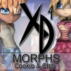 XD Morphs: Cookie and Chip