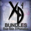 Daz Gen 3 Females: CrossDresser Bundle