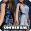 Universal April Showers Dress