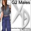 XD3 G2 Males: Crossdresser License