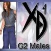 G2 Males: CrossDresser License