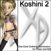 XD3 Koshini 2: Crossdresser License