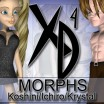 XD Morphs: Koshini/Ichiro/Krystal