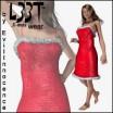 L33T Xmas Short Dress for V4