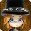 Goth Top Hat for Cookie