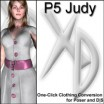 XD3 P5 Judy: Crossdresser License