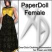 XD3 PaperDoll Female: CrossDresser License