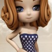 Nostalgia: Polka Dot Swim Dress for Cookie