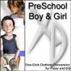 XD3 Preschool Boy/Girl: Crossdresser License