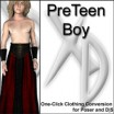 XD3 Preteen Boy:CrossDresser License