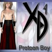 Preteen Boy: CrossDresser License