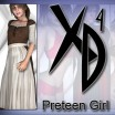 Preteen Girl: CrossDresser License