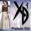 Preteen Girl: CrossDresser License