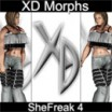 XD Morphs: SheFreak 4