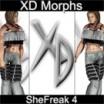 XD Morphs: SheFreak 4