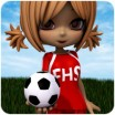 School Spirit: Soccer Uniform for Cookie