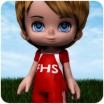 School Spirit: Soccer Uniform for Lil Bit