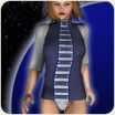 Space Defenders textures for Babydoll Panty
