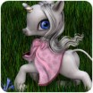 Spring Cloak for the Unicorn Baby