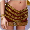 Thousand Nights: Desert Gem Skirt for V4